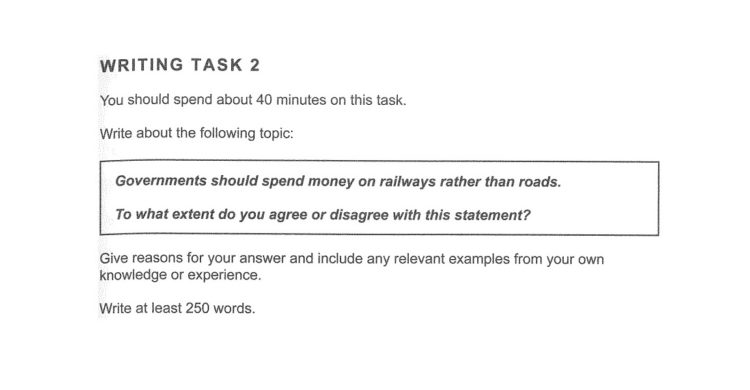 Writing task 2 sample/model answer (Cambridge IELTS 11 Test 1)